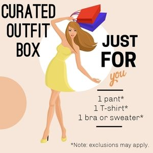 Curated style outfit box